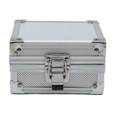 Aluminum Tattoo Machine Liner Shader Clasp Supply Storage Box Gun Grip Case