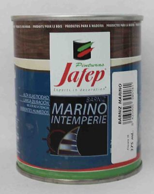BARNIZ MARINO INTEMPERIE Brillo 375ml. de JAFEP