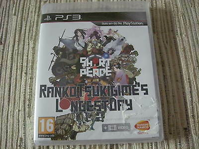 PS3 SHORT PEACE Ranko Tsukigimes LONGEST DAY Game NEW & Sealed