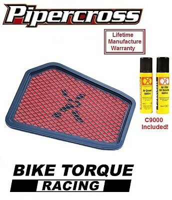 Honda CBR125R 03-15 Pipercross Performance Air Filter + Cleaning Kit