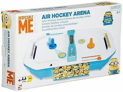 Sambro Despicable ME Minions Air Hockey Arena Game Machine Kids Table Toy Gift