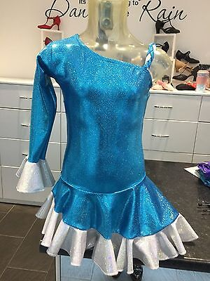 Dance Dress / Slow Dance / Ice Skating Dress Free  Matching Scrunchie....new
