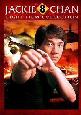 Jackie Chan 8 Film Collection - 2 DISC SET (2015, REGION 1 DVD New)