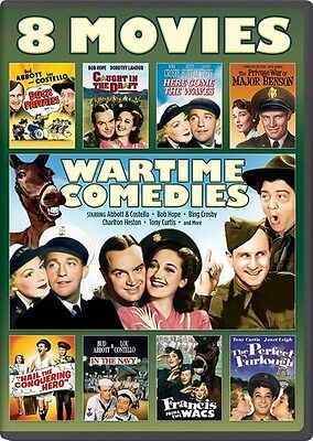 Wartime Comedies 8-Movie Collection - 2 DISC SET (2015, REGION 1 DVD New)