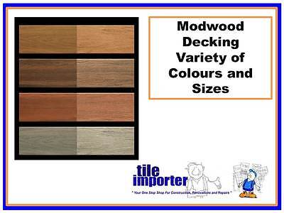 Modwood Decking 68mm x 17mm x 4.8m - Loose - $4.20 per lineal metre