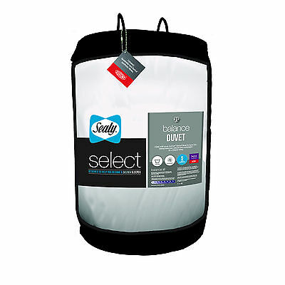 Sealy Select Balance Duvet - 10.5 Tog - Single Double King Size or Super King