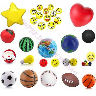 Anti Stress Reliever Ball Autism Mood Squeeze Foam Ball Hand Exercise Stressball