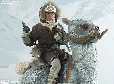 Tauntaun Deluxe Sixth Scale Figure +  Han Solo   Figur in Hoth Autfit - Sideshow