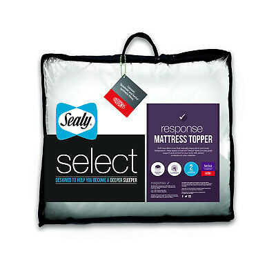 Sealy Select Response Mattress Topper - Single Double King Size or Super King
