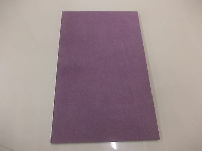 Valchromat Coloured Wood 210 x 148 x 8mm A5 Violet  Board Sheet DIY Wood Panel