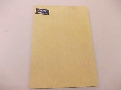 Valchromat Coloured Wood 210 x 148 x 8mm A5 Yellow  Board Sheet DIY Wood Panel