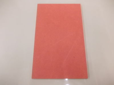 Valchromat Coloured Wood 210 x 148 x 8mm A5 Red  Board Sheet DIY  Panel