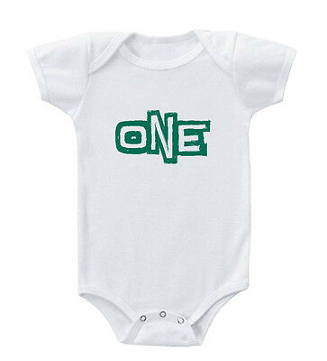 One Year Old Infant Toddler Baby Cotton Bodysuit One Piece