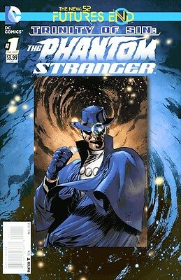 Trinity Of Sin Phantom Stranger  Futures End #1 3D Motion Cover 1St Printing