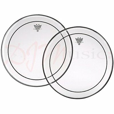 Remo Pinstripe Clear Bass Drum Heads