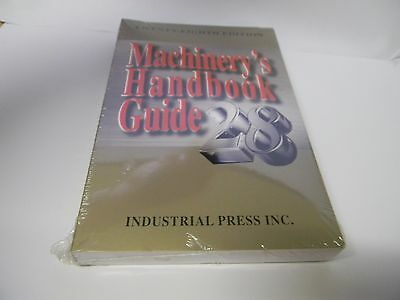 Industrial Press  28th Edition Guide Machinery Handbook 9780831128999