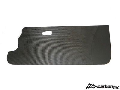 Carbon door cards Clio 172 182 front and rear fuel pump cover