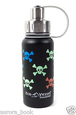 Eco Vessel Gobble N Go Snack Cup with 2 Lids 16 Ounce Owl Design WA56149