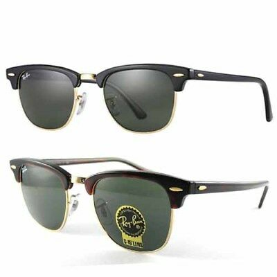 Ray-Ban RB3016 Classic Clubmaster Sunglasses (G-15XLT Lens)