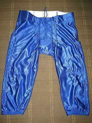 Lot of 25 New Riddell Youth Dazzle Slotted Football Pants - Royal Blue