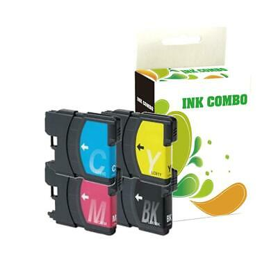 4 pk LC61 ink set for Brother MFC-490CW MFC-6490CW MFC-J615W Printer BEST DEAL!