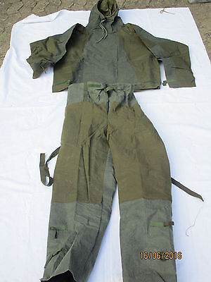 Smock & Trousers Protective NBC,No.1 MK2,Size: Small, date 1973/72