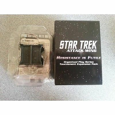 Star Trek Attack Wing Resistance is Futile Borg Scout Cube 255 OP - Heroclix