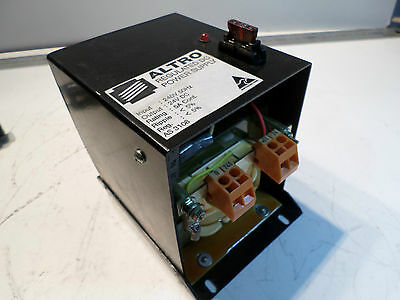 ALTRO REGULATED DC POWER SUPPLY -- 240AC Input -- 24DC Output -- 5amps cont