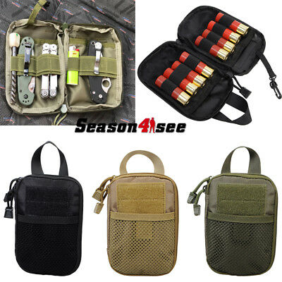 Tactical Military Molle Waist Bag Tools Accessory Pouch Outdoor Camping 1000D