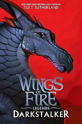 Darkstalker (Wings of Fire: Legends) by Tui T. Sutherland (English) Hardcover Bo