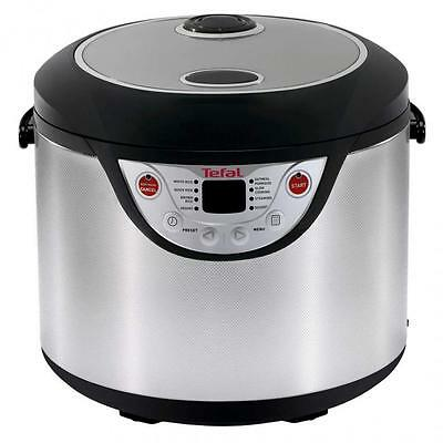 Tefal RK302E15 2.2L 10 Cup 8 in 1 Rice and Porridge Cooker With Digital Controls