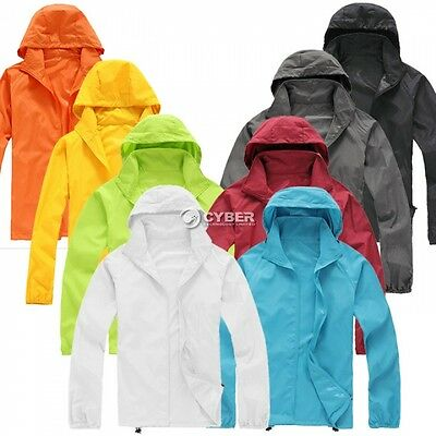 Uniesx Outdoor Hunting Camping Cycling Waterproof Jacket Outerwear Hoodie Coats