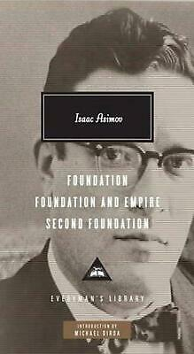 Foundation Trilogy: Second Foundation by Isaac Asimov (English) Hardcover Book F