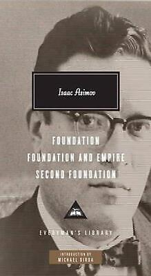 Foundation Trilogy by Isaac Asimov (English) Hardcover Book Free Shipping!