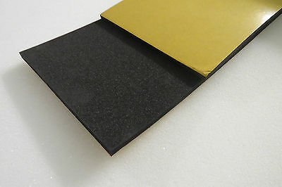 Adhesive-Back Neoprene Sponge Rubber Foam, Various Sheet Sizes/Depths, Foam.uk