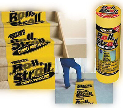 Masking - Everbuild Roll and Stroll Premium Carpet Protector 600mm x 25Metre