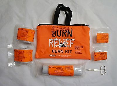 """New Burn Relief Emergency First Aid Burn Kit 4 - 36"""" Long Dressings O_Two Brand"""