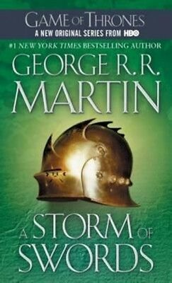 A Storm of Swords by George R.R. Martin Hardcover Book (English)