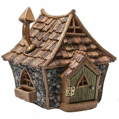 Fiddlehead Fairy Garden Miniature Shingle Roof Cottage Home Dwelling