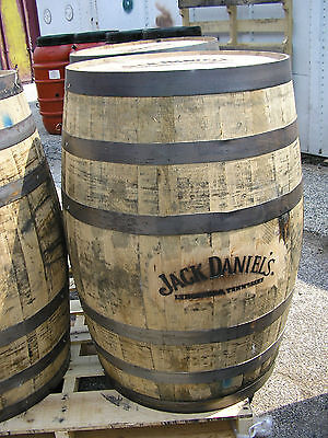 Whiskey Barrel Authentic JD Branded barrel with FREE SHIPPING!
