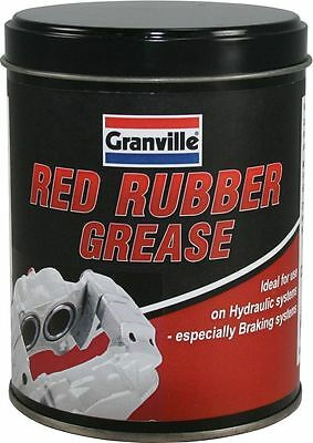 GRANVILLE RED RUBBER GREASE 500g TUB FOR HYDRAULIC SYSTEMS AND BRAKING SYSTEMS