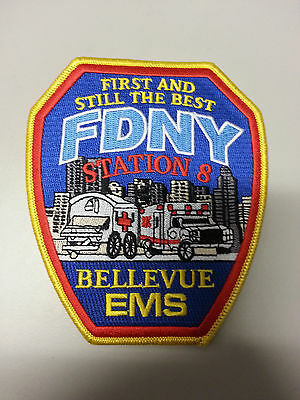FDNY EMS Battalion 8 (Bellevue) Patches