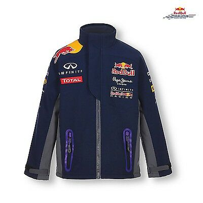 JACKET Kids Softshell Coat Red Bull Racing Childrens Formula One 1 F1 NEW!