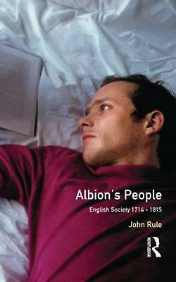 NEW Albion's People by John Rule Paperback Book (English) Free Shipping