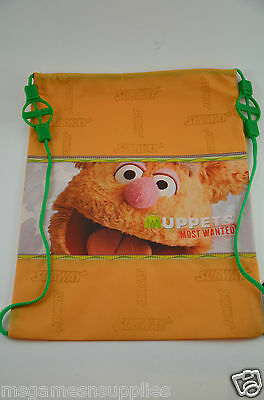 Disney Muppets Most Wanted * Fozzie * Kids Childs Tote Bag - Turns into Backpack
