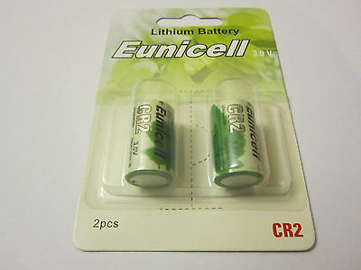 Eunicell 2x CR2 CR-2 CR-2W CR15H270 3V Lithium Batteries Digital Camera Alarm