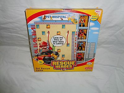 Rescue Heroes Pet Rescue Game 2002 New