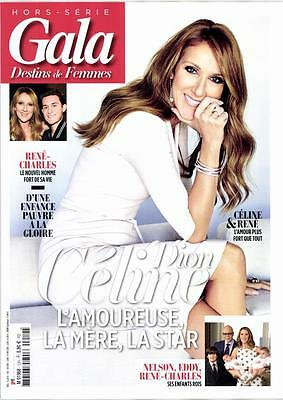 Celine Dion New French Gala Magazine 82 Pages France June 2016 Encore Un Soir