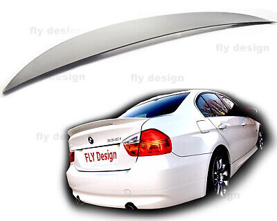 BMW E90 M Sport Tuning Heckspoilerlippe Spoiler Lip *PERFORMANCE Stil* HIGH KICK