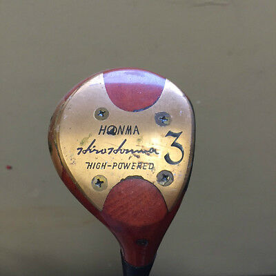 Honma Hirohonma High Powered Persimmon 3 Wood Right Hand